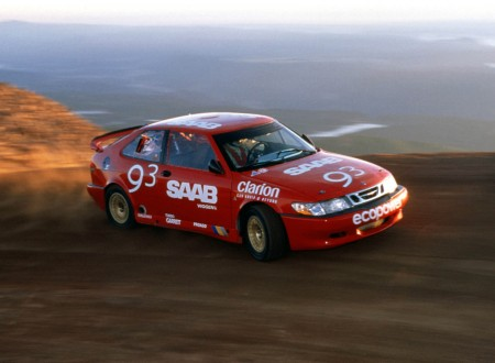 Saab Pikes Peak with Per Eklund
