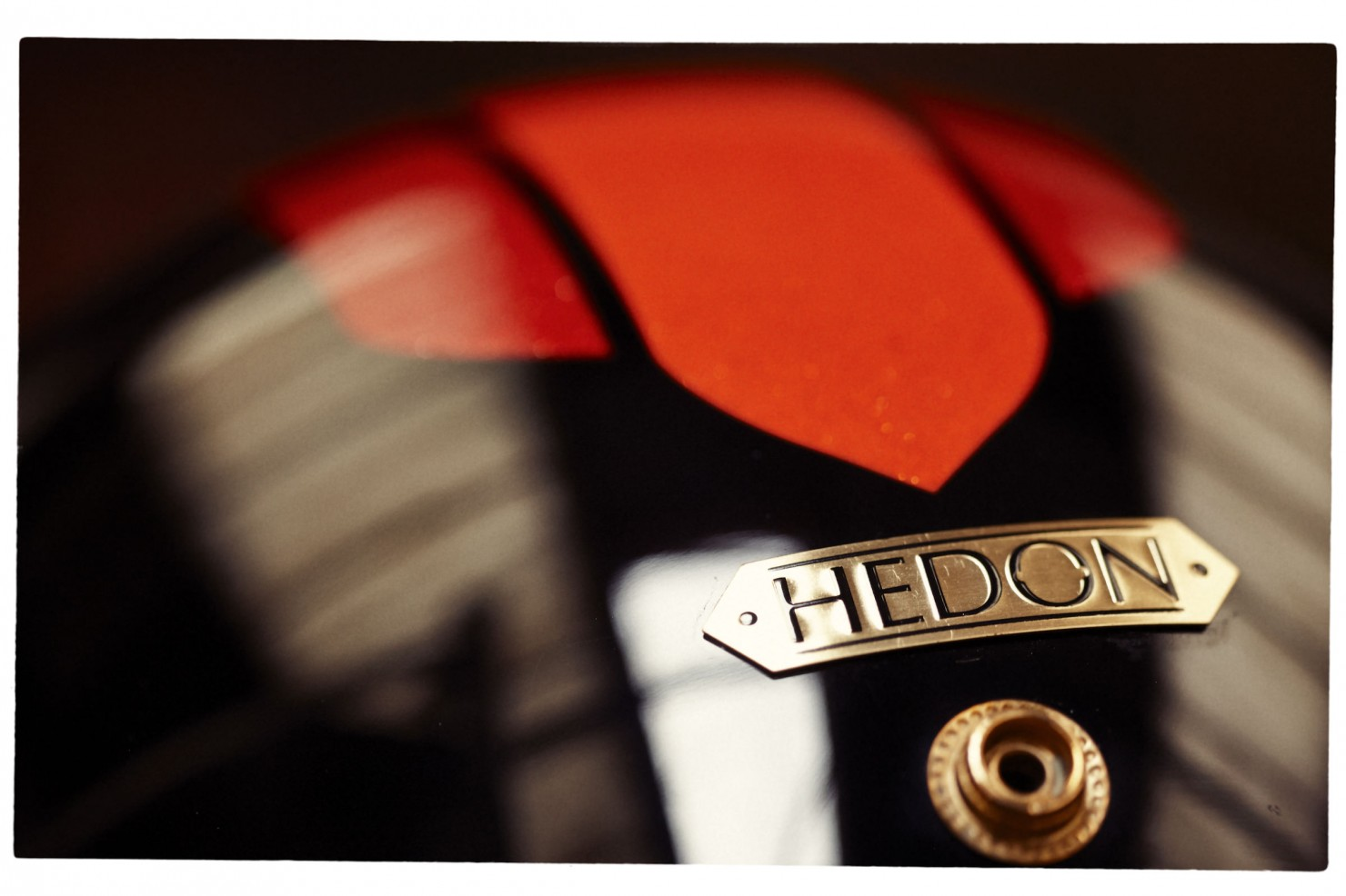 The HEDON x 4H10 1971 Carbon Fibre Helmet