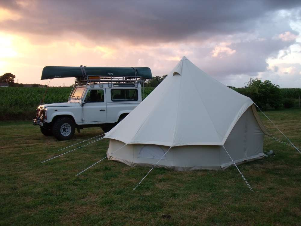 The Sibley 400 Deluxe Tent 3