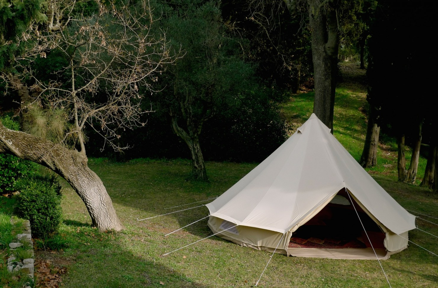 The Sibley 400 Deluxe Tent 4