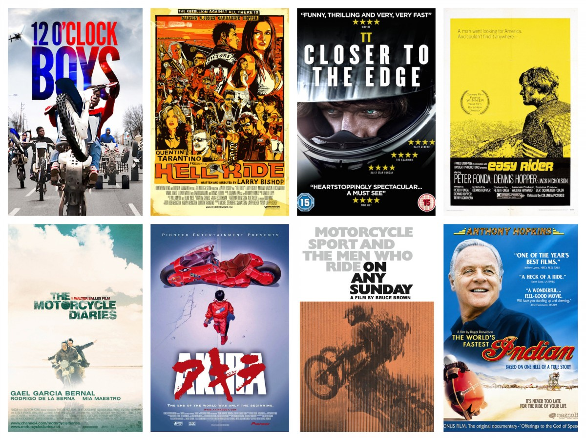 20 Essential Motorcycle Films