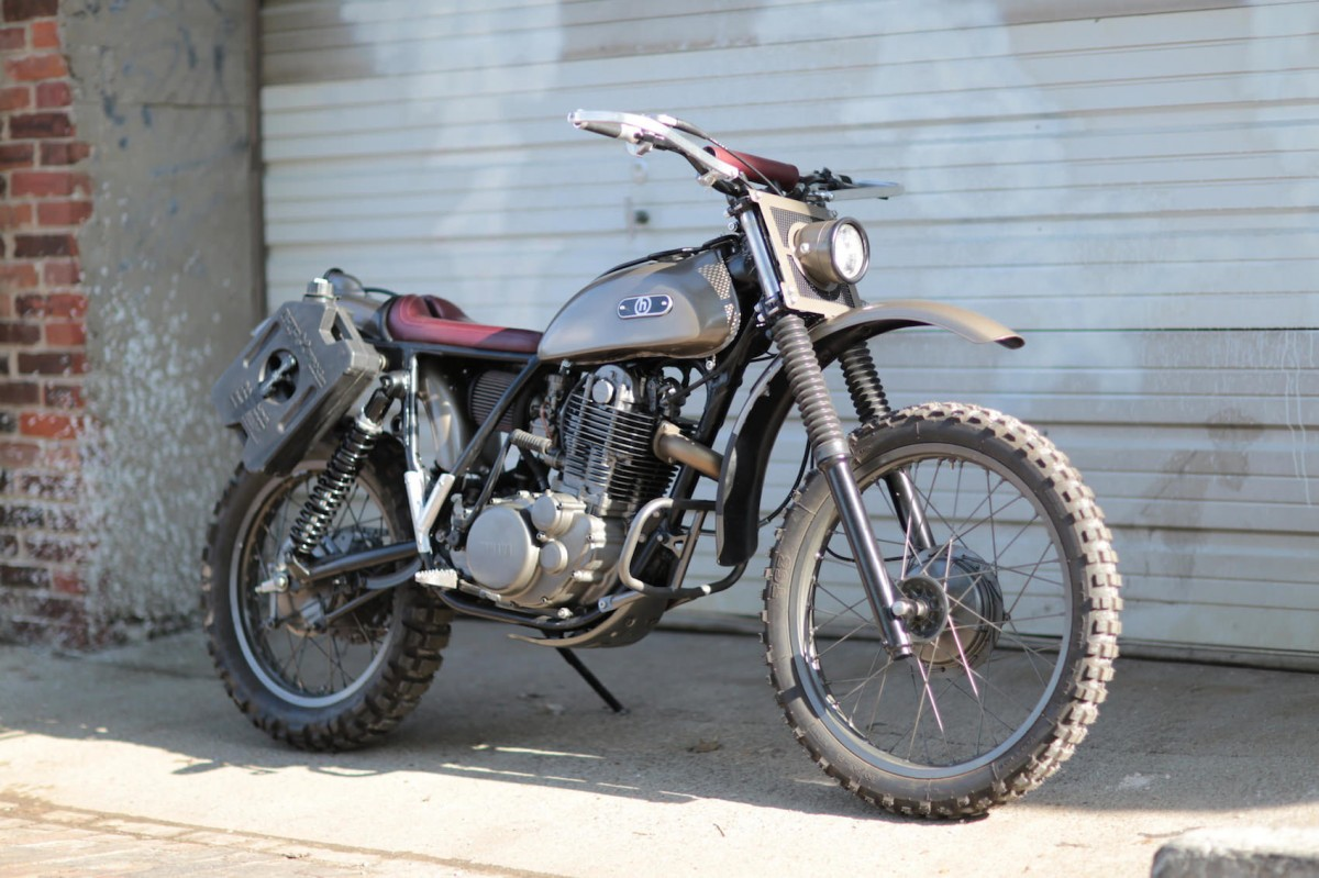 Caf racer 76 yamaha xt500 by h garage for Garage yamaha paris