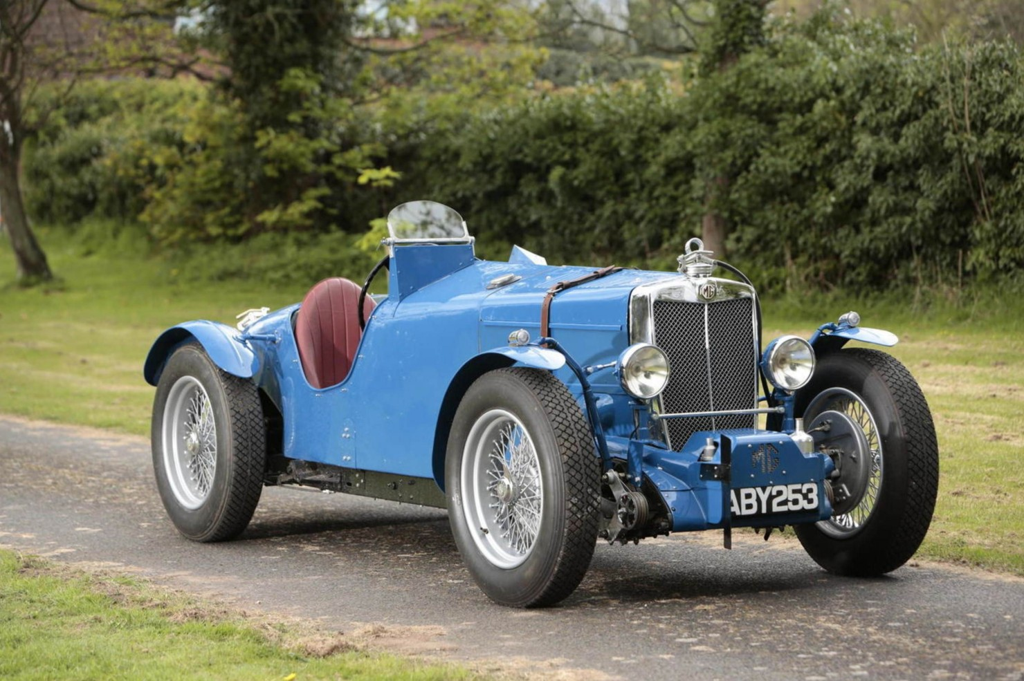 1934 MG Magnette ND:NE Racing Special 1