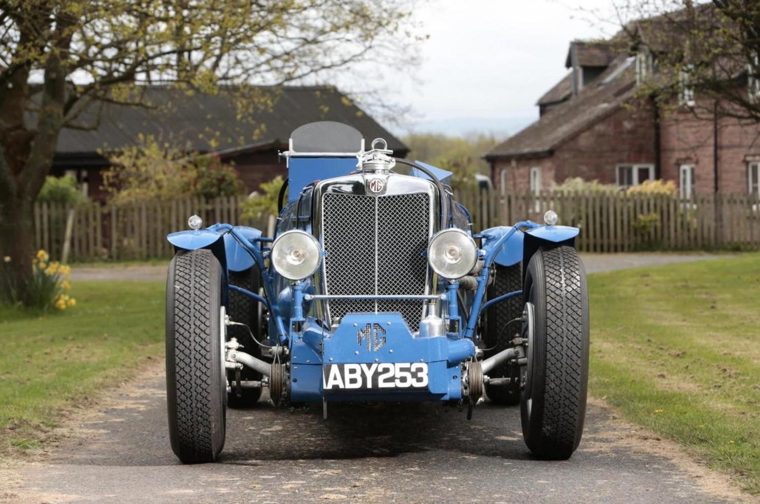 1934 MG Magnette ND:NE Racing Special