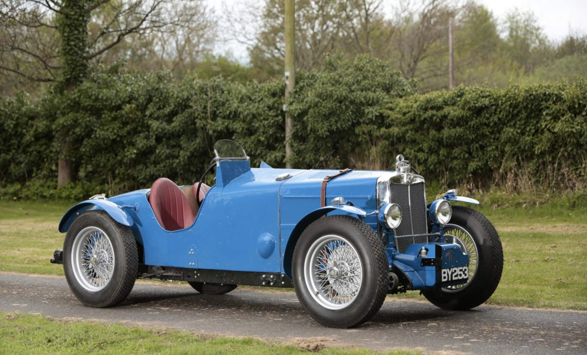1934 MG Magnette Racing Special