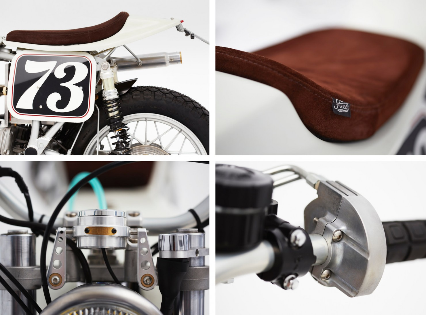 BMW R100 RS Flat Tracker Details