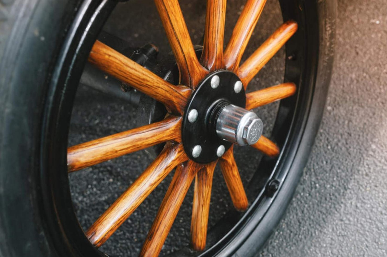 Ford Model T Roadster Wheel
