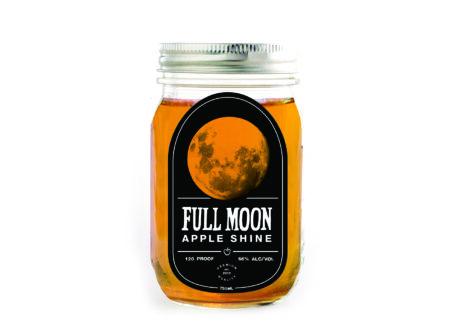 Full Moon Apple Shine