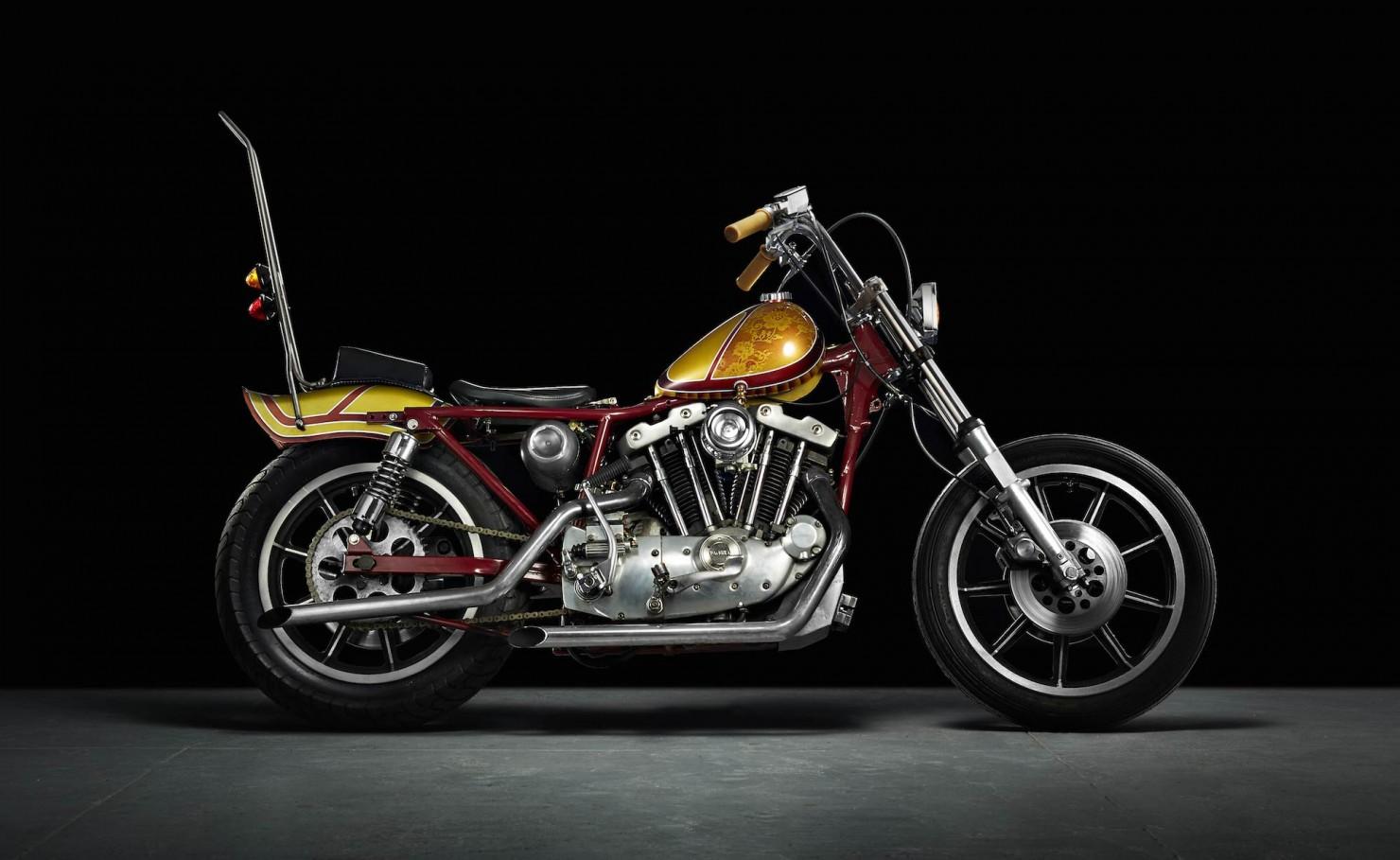 Harley-Davidson Chopper Motorbike