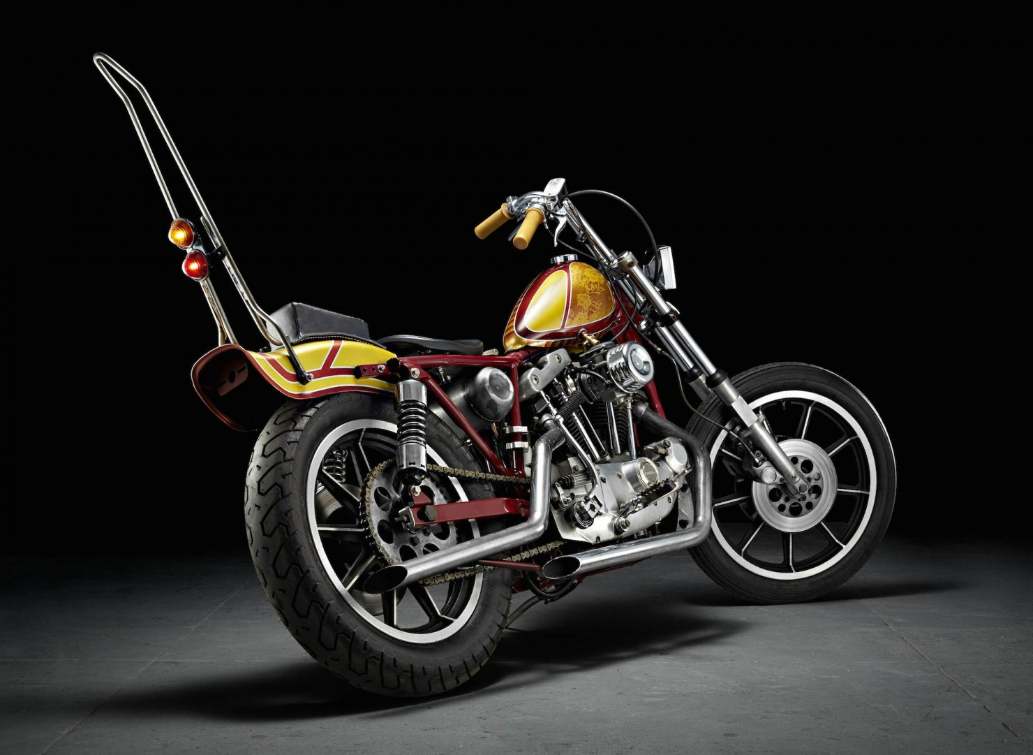 Harley-Davidson Chopper Motorcycle