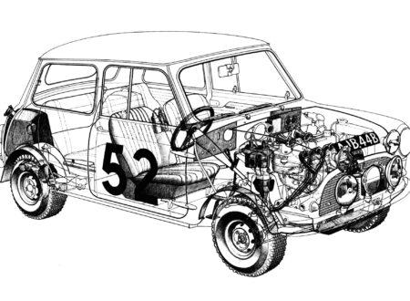 Mini Cooper Cutaway