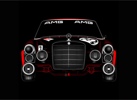 The Red Pig AMG Mercedes 450x330 - The Red Pig Print