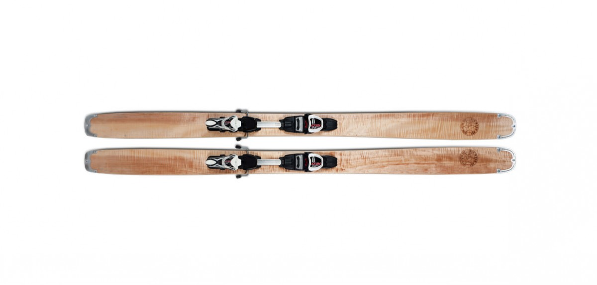 Wooden Skiis 1200x574 - The T-Dub Ski by Big Woodski