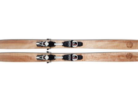Wooden Skiis