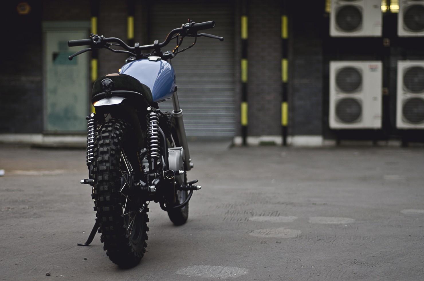 Yamaha SR500 8