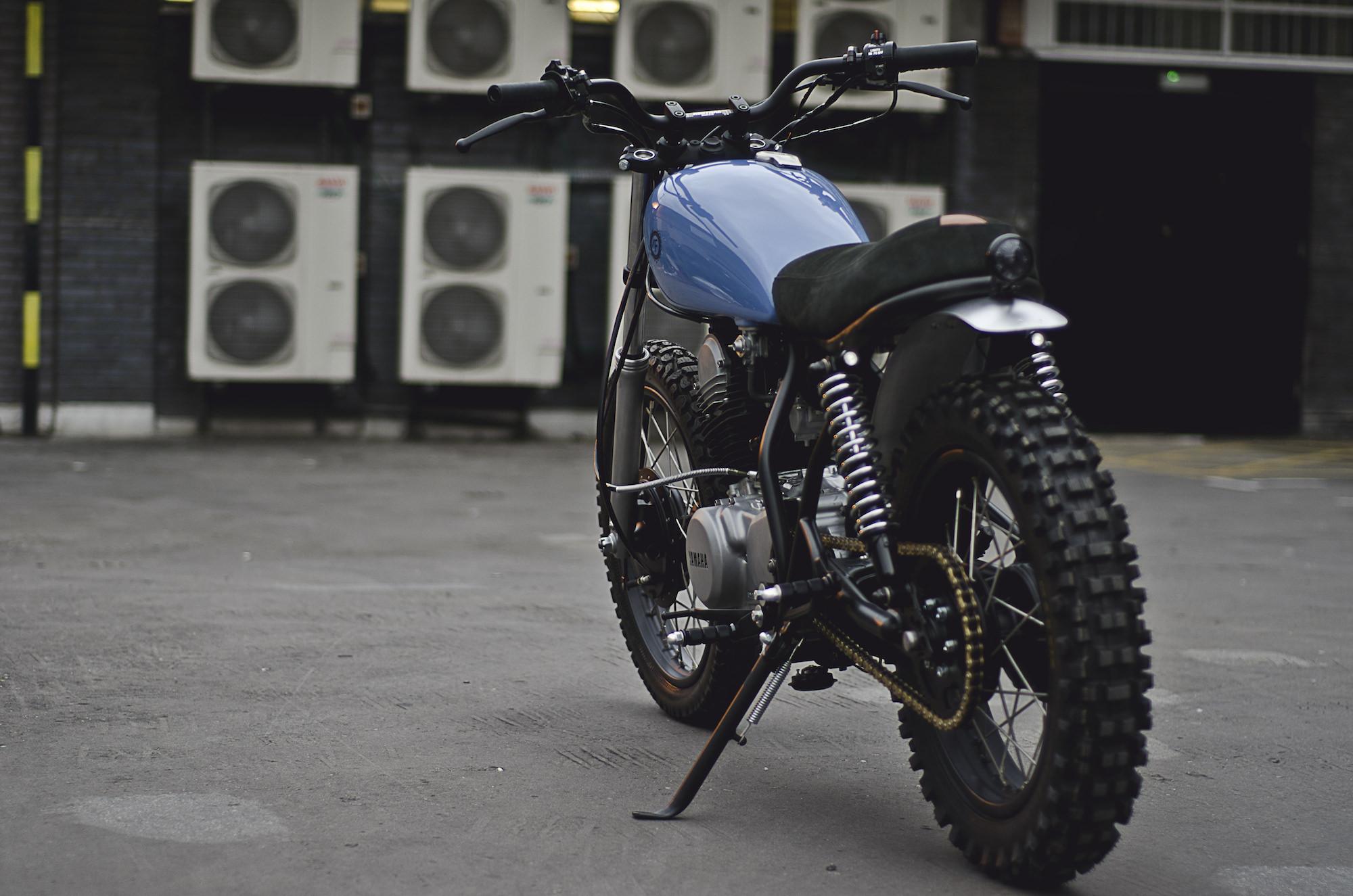 Sr 250 custom parts