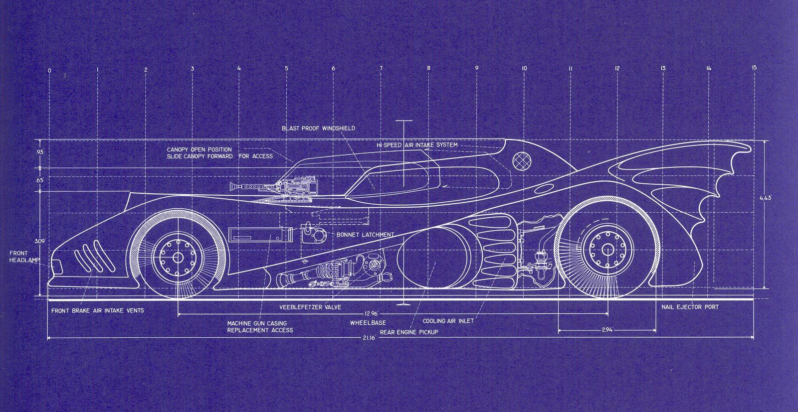 Batmobile blueprints batmobile blueprints 2 malvernweather Choice Image