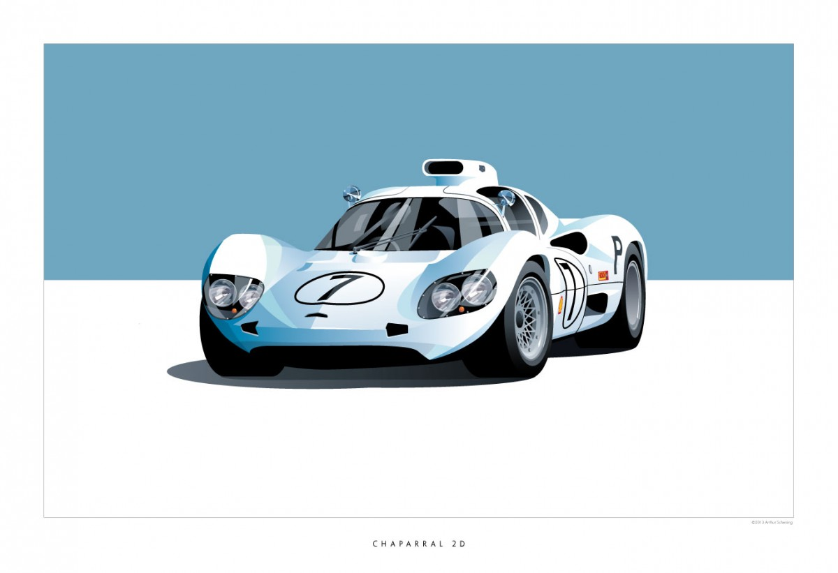 Historic Racing Cars by ScheningCreative