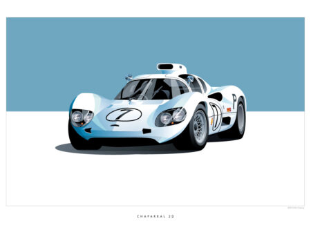 Chaparral 2D 450x330 - Historic Racing Cars by ScheningCreative