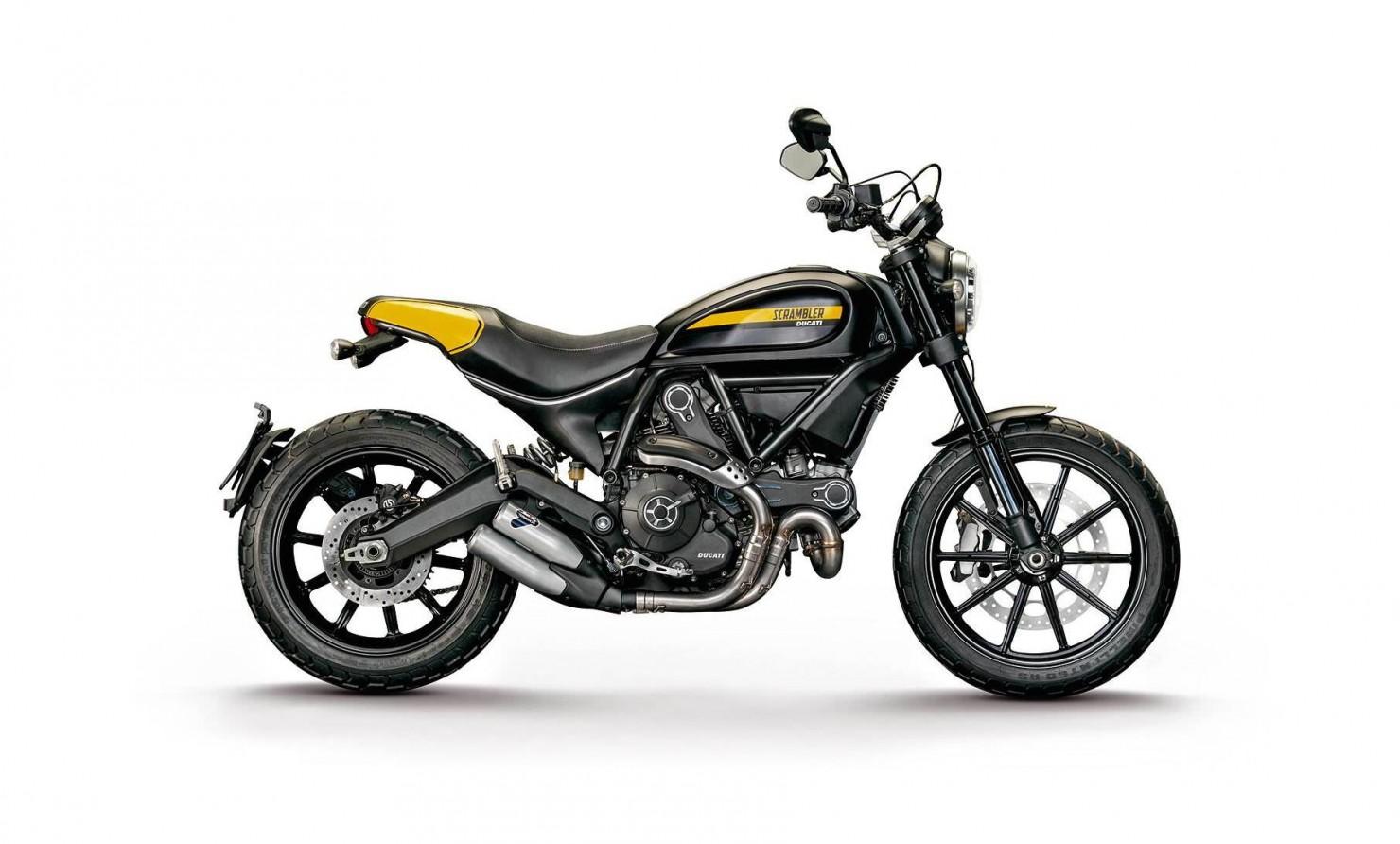 Ducati Scrambler Motorbike