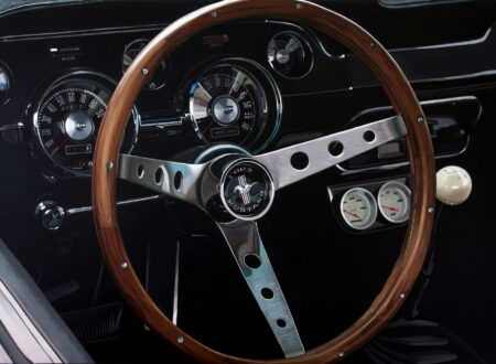 Ford Mustang Steering Wheel 450x330 - Mustang by Luis Pérez
