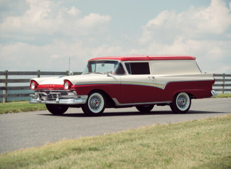 Ford Courier 1 450x330 - A Restored 1957 Ford Courier Sedan Delivery