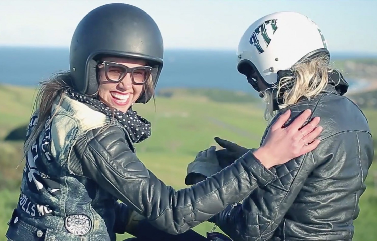 Girls Riding Motorcycles 3