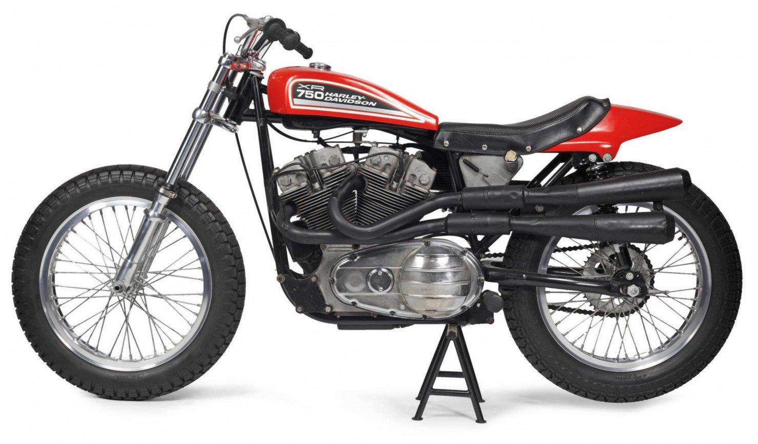 Harley Davidson: 1972 Harley-Davidson XR750