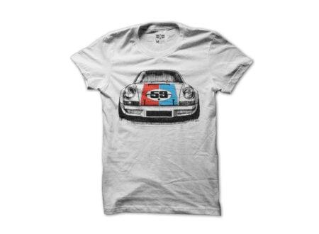 Porsche 911 RSR Tee 450x330 - Porsche 911 RSR Tee by Cars for a Cure
