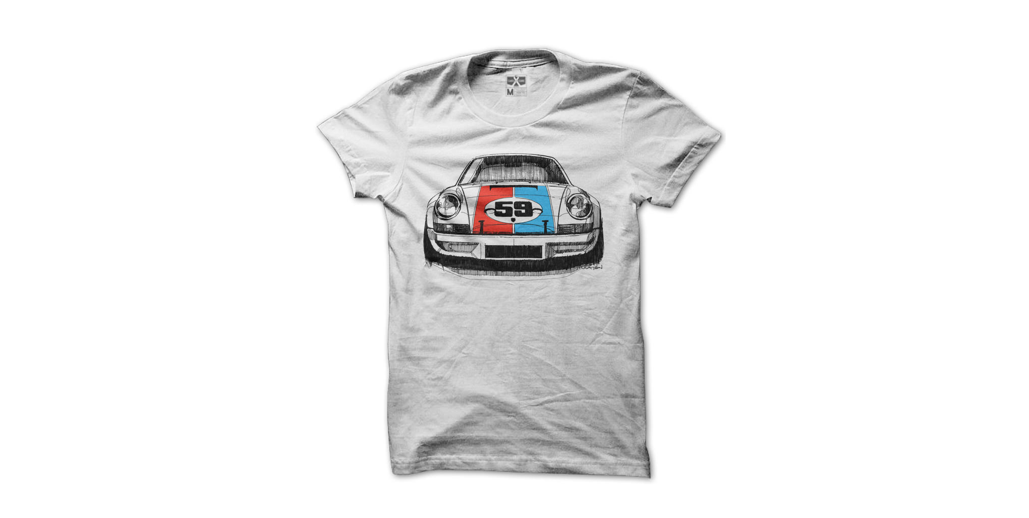 porsche 911 rsr tee by cars for a cure. Black Bedroom Furniture Sets. Home Design Ideas