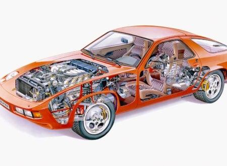 Porsche 928 Cutaway