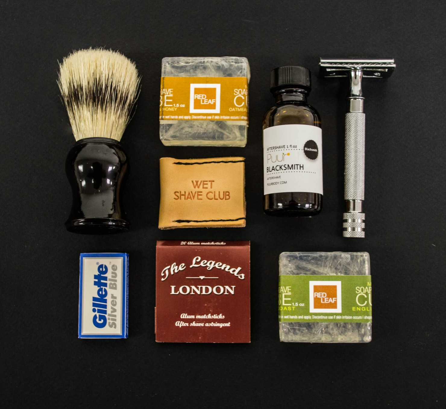 The Wet Shave Club Box