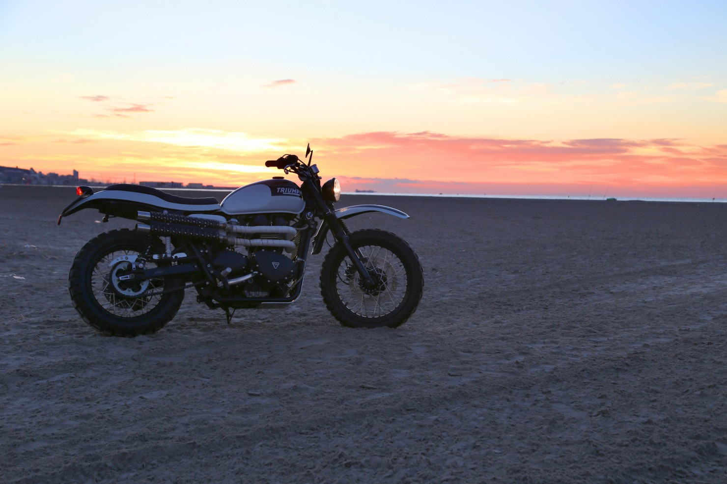 Triumph Scrambler by Tamarit Spanish Motorcycles 3