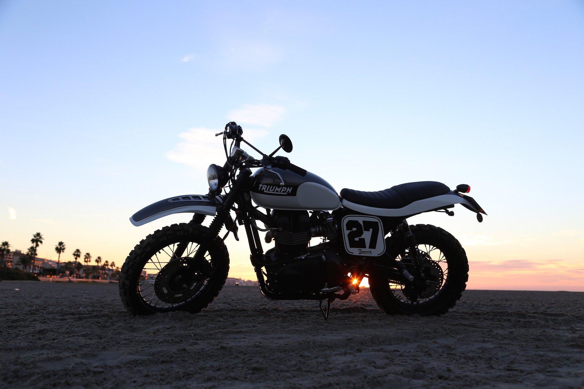 Triumph Scrambler by Tamarit Spanish Motorcycles 4