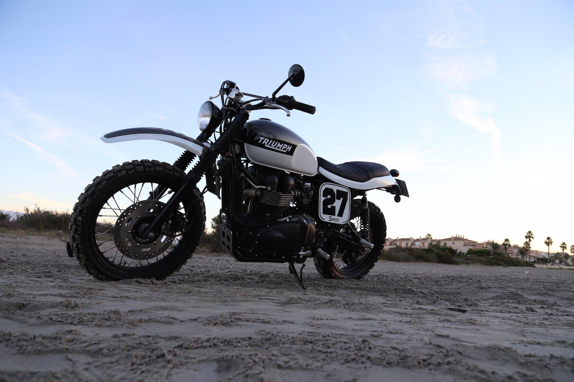 Triumph Scrambler by Tamarit Spanish Motorcycles 5