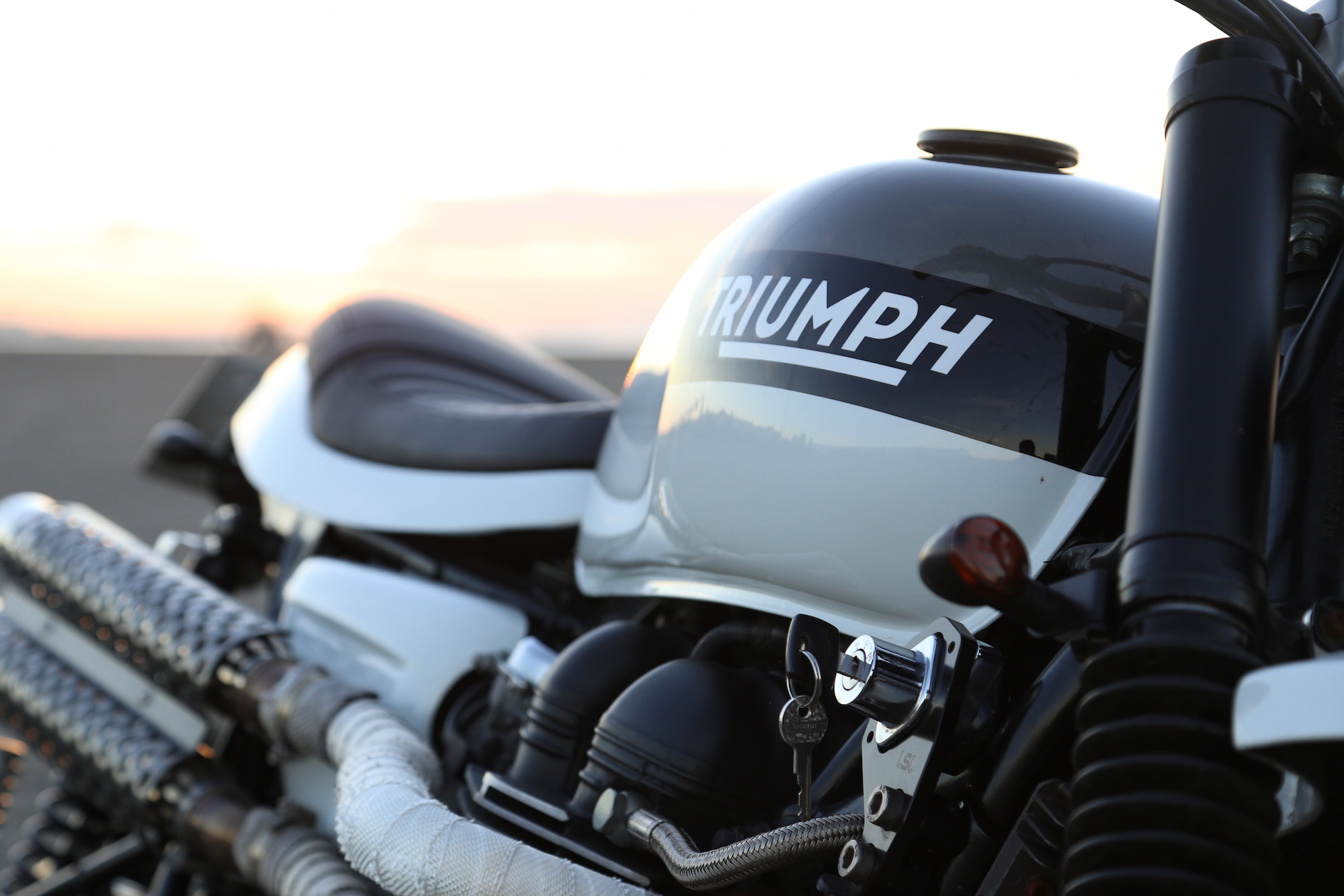 Triumph Scrambler by Tamarit Spanish Motorcycles 6