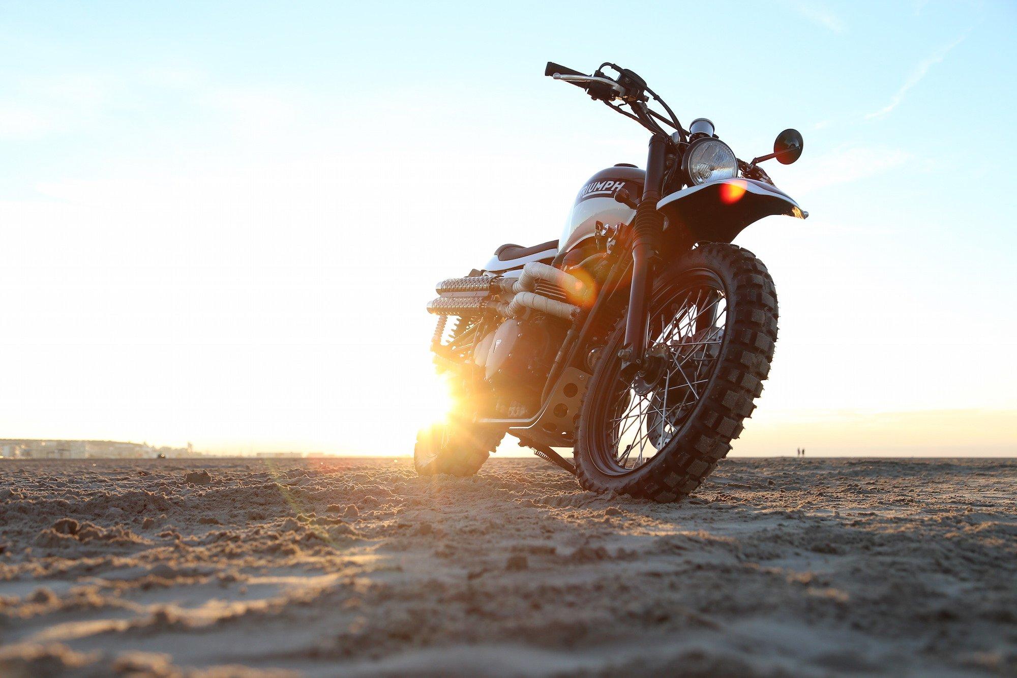 Triumph Scrambler by Tamarit Spanish Motorcycles 7