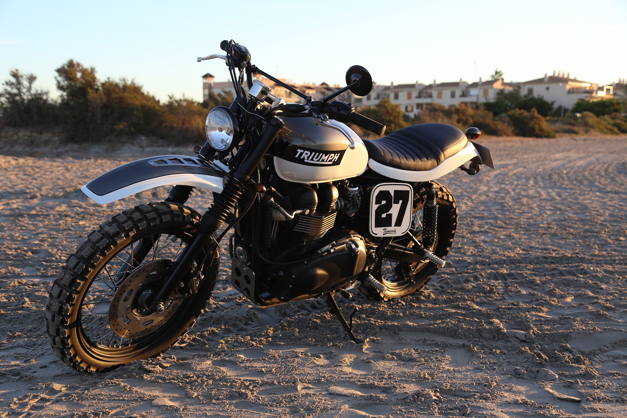 Triumph Scrambler by Tamarit Spanish Motorcycles 8