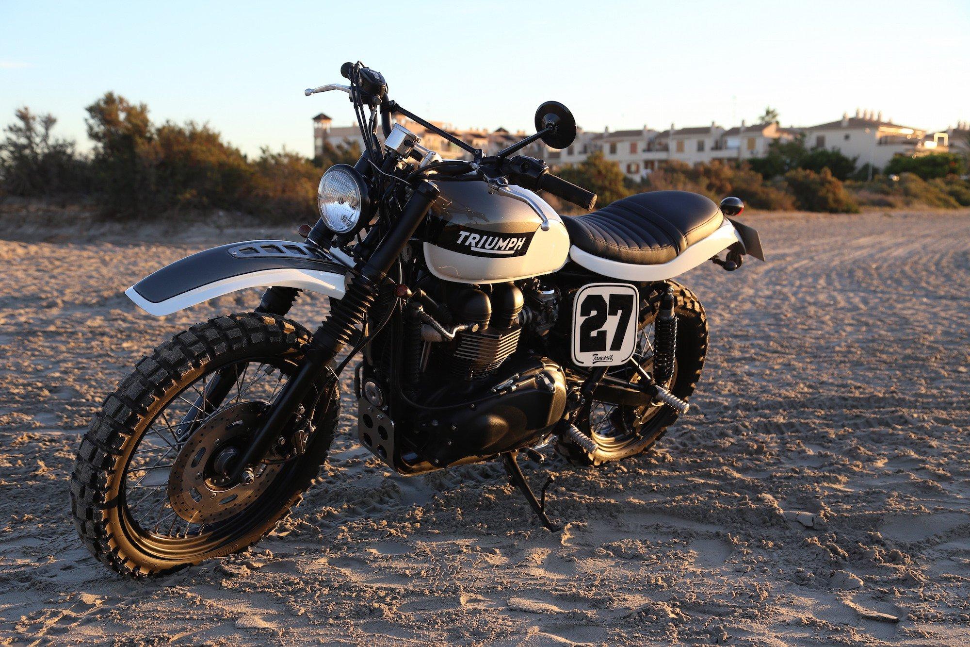 Triumph Scrambler by Tamarit Spanish Motorcycles 8