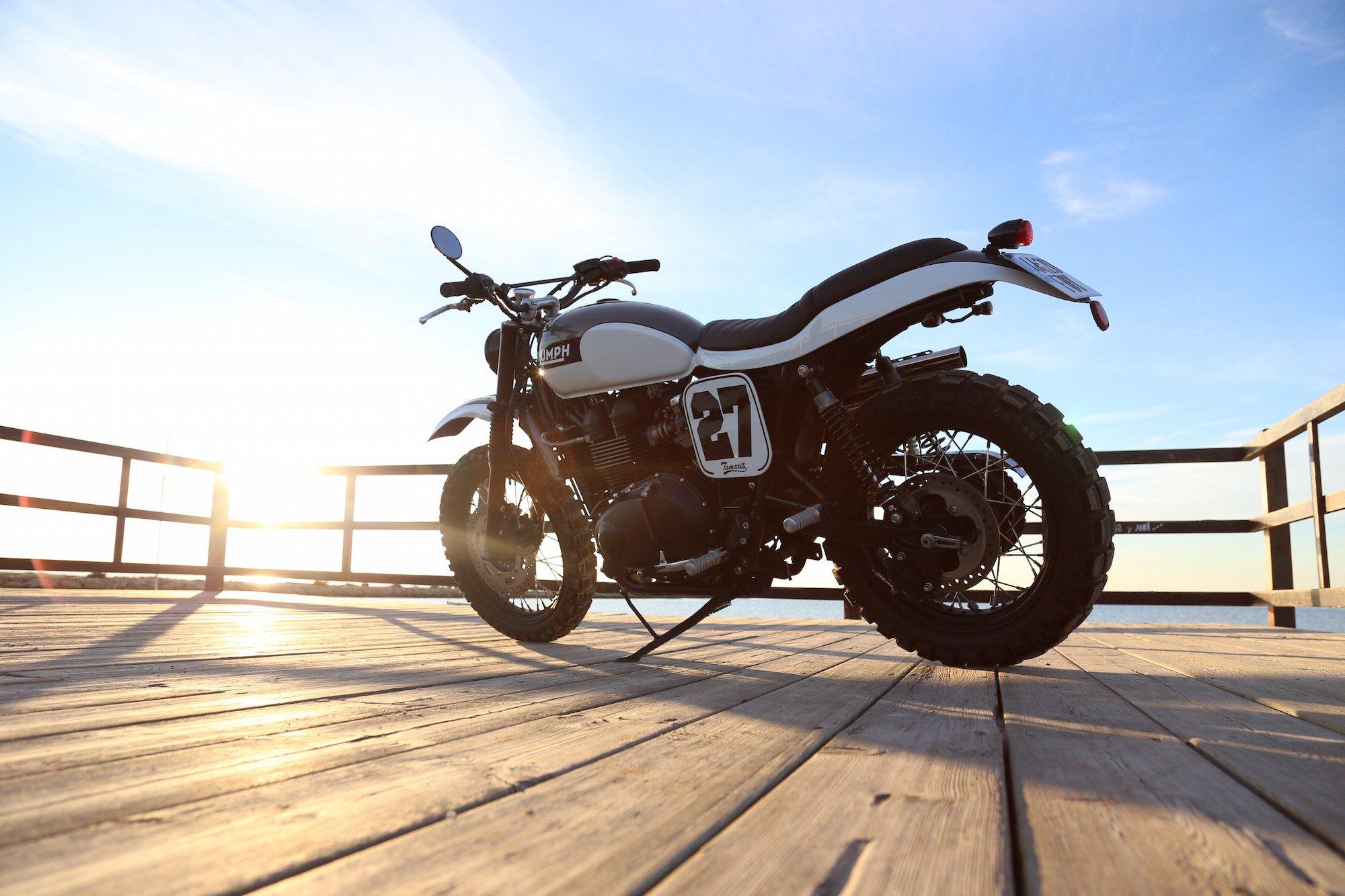 Triumph Scrambler by Tamarit Spanish Motorcycles 9