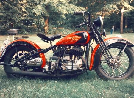 Vintage Harley Flathead