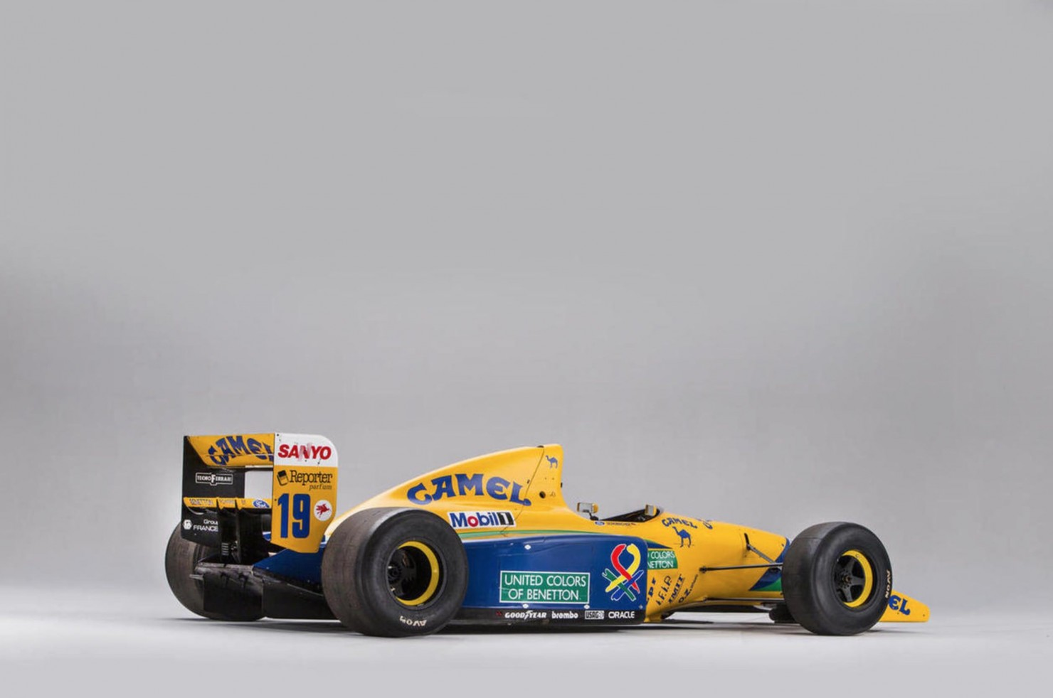 Ex-Schumacher Benetton Formula 1 Car