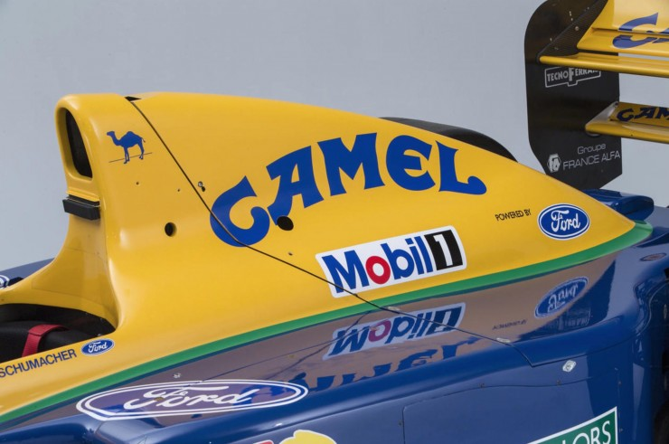 Benetton-Ford Formula 1 Car 10