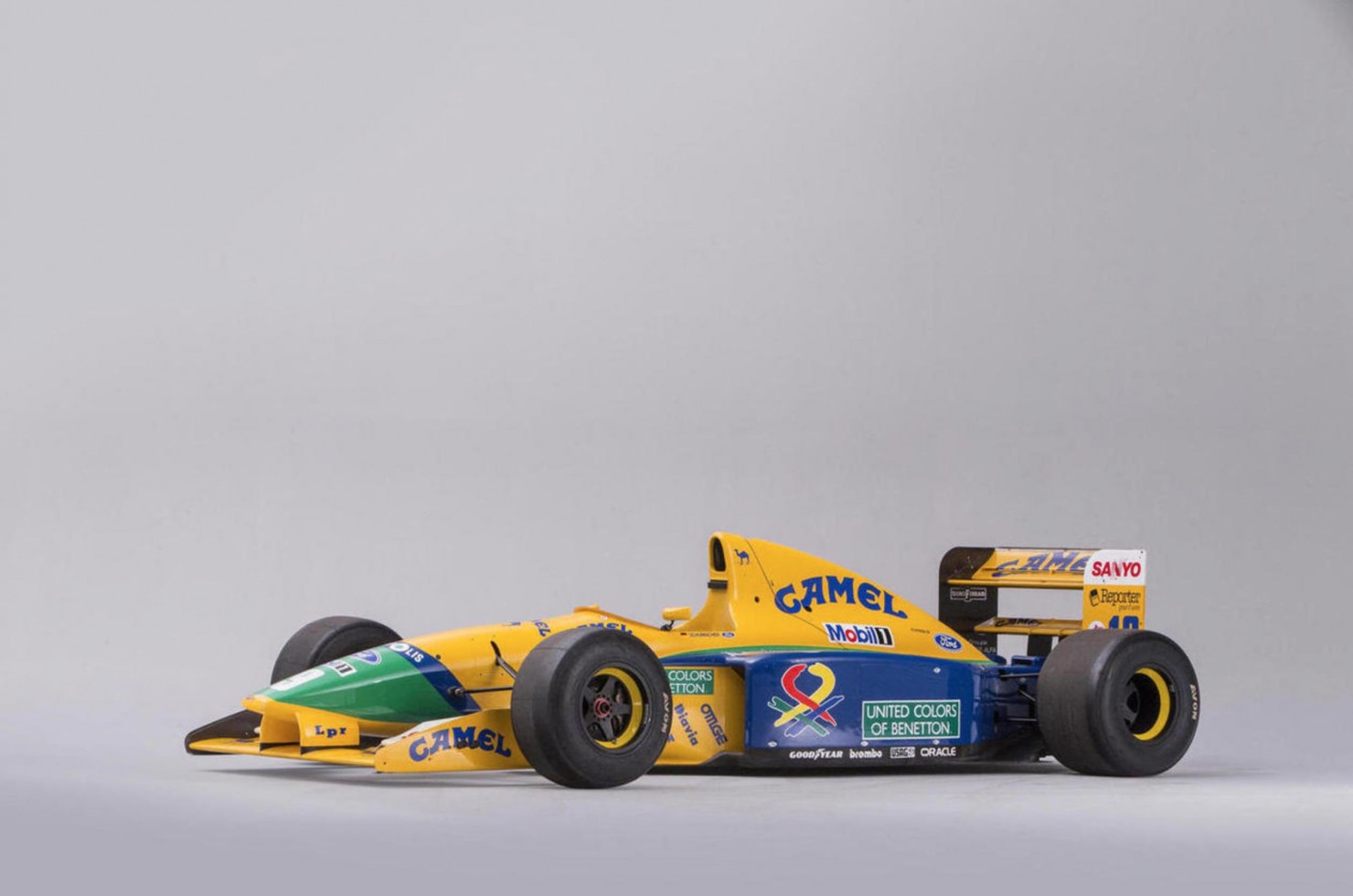 Ex-Schumacher Benetton Formula 1 Car