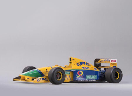 Benetton Ford Formula 1 Car 450x330 - Ex-Schumacher Benetton Formula 1 Car