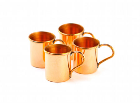 Copper Shit Cups 450x330 - Copper Whiskey Cups