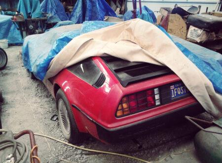 DeLorean Car 21 450x330 - DeLorean DMC-12 Barn Find