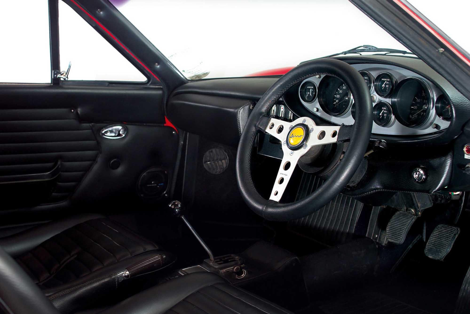 Ferrari Dino Interior