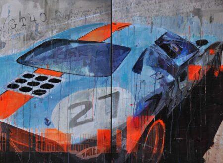Ford GT40 Art 450x330 - Automobile Art by Markus Haub