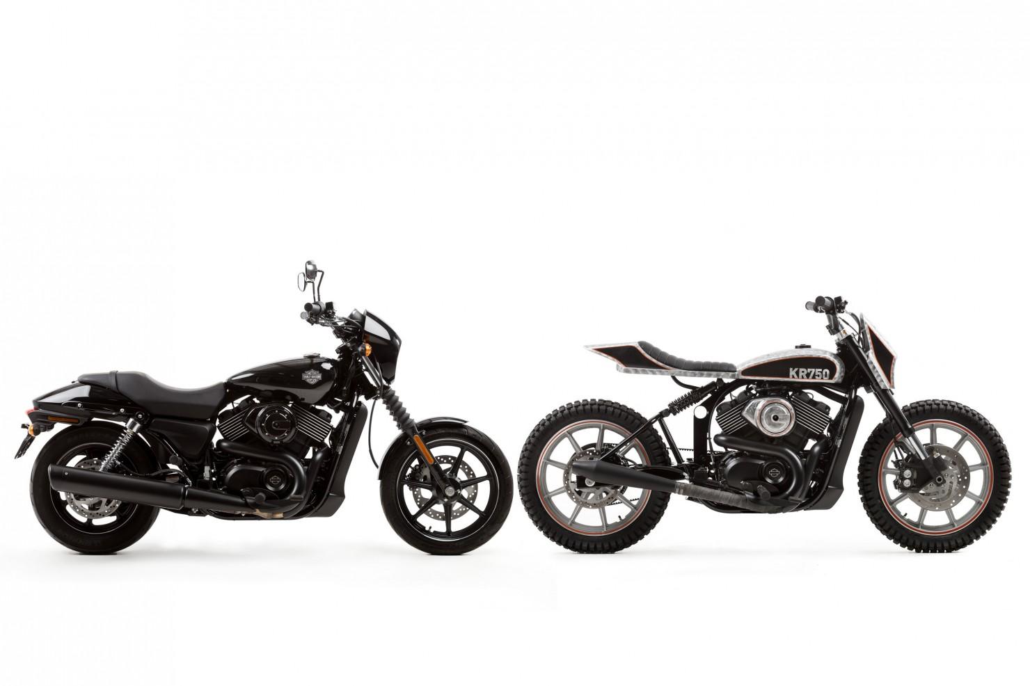 Harley Davidson Street Custom 3 1480x986 Harley Davidson Street 750 Tracker